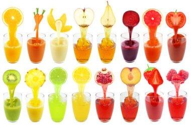 Succo di frutta: una bevanda salutare a base di frutta e acqua, a volte con tanti (troppi) zuccheri
