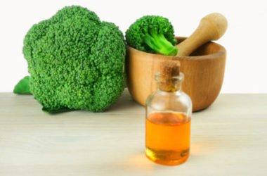 L'olio di broccoli ha effetto lisciante e anticrespo per i capelli ed è protettivo e rigenerante per pelli mature