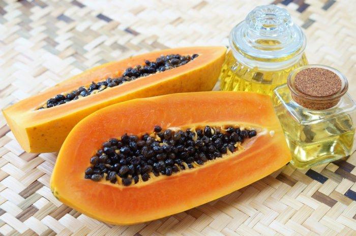 olio di papaya
