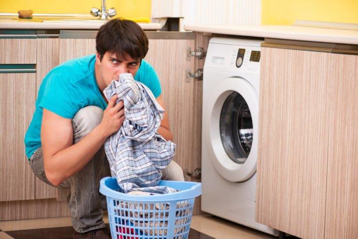 Cattivo odore in lavatrice