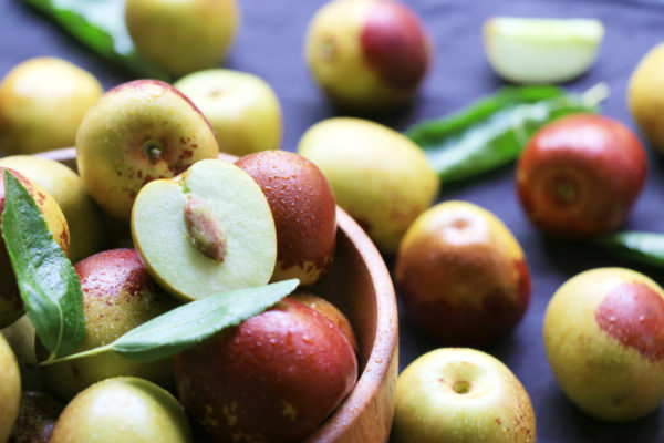 Giuggiole: frutto autunnale dolce e calorico, che dona anche serenità
