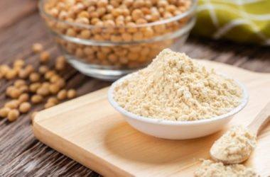 Farina di soia, un alimento ricco di proteine e privo di glutine
