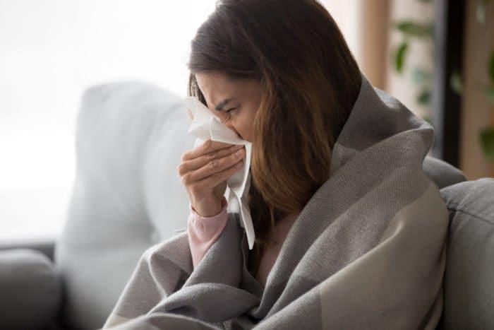 Curare il raffreddore velocemente