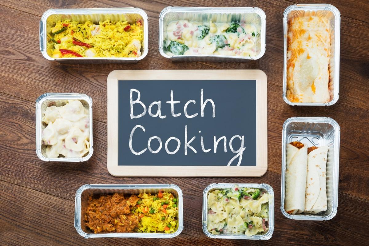 Come Organizzare I Pasti Settimanali batch cooking, cucinare tutti i pasti della settimana assieme
