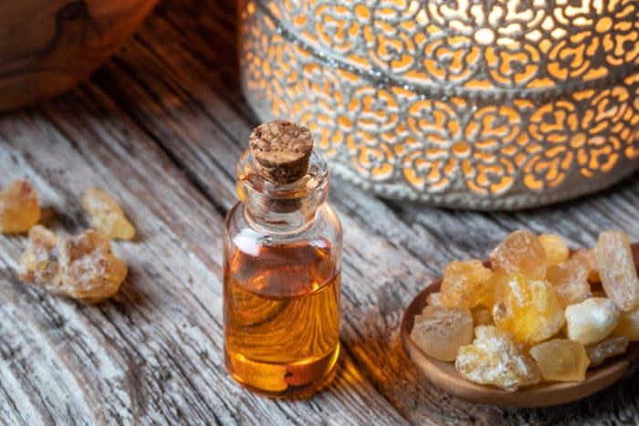olio essenziale d'incenso