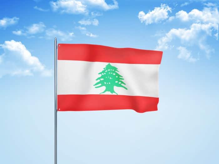 cedro del Libano bandiera