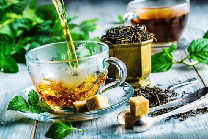 tè nero,