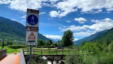 Photo of Sentiero Valtellina, foto video e descrizione di questo lunghissimo itinerario ciclabile
