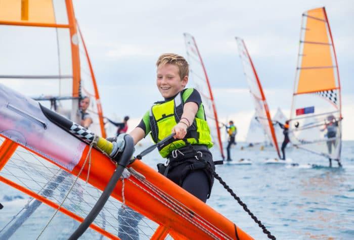 windsurf da bambini
