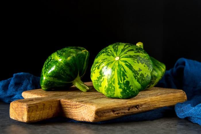 zucchina patisson