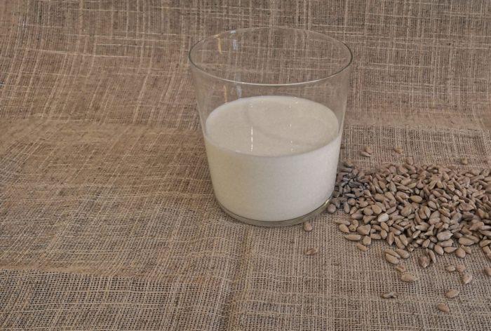 latte di semi di girasole