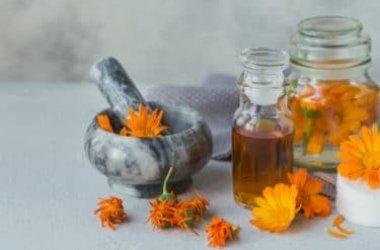 Olio di calendula rinfrescante lenitivo e cicatrizzante  un ottimo alleato della nostra pelle