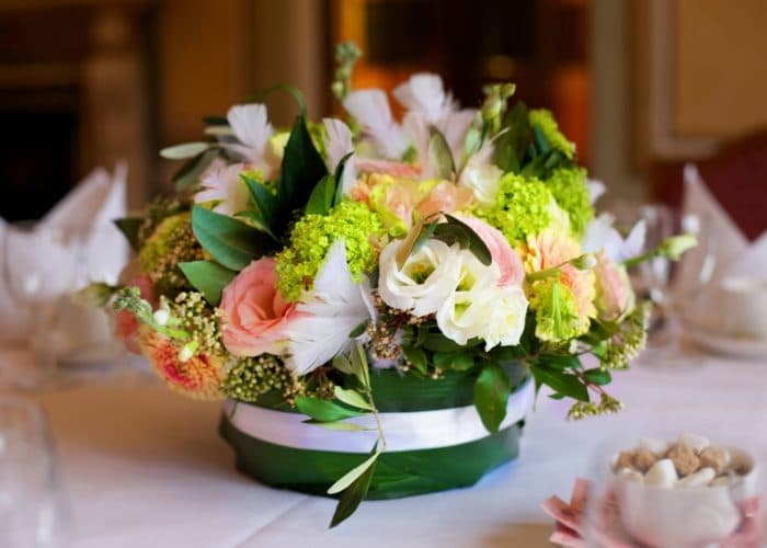 bouquet fiori centrotavola