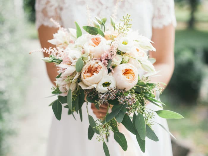 bouquet di fiori da sposa