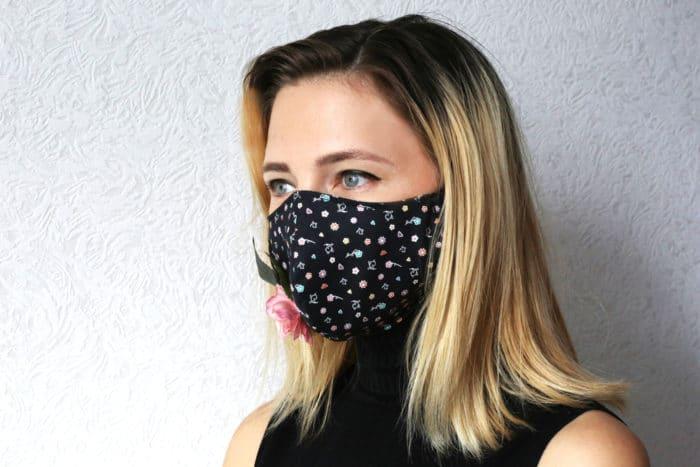 mascherina in tessuto