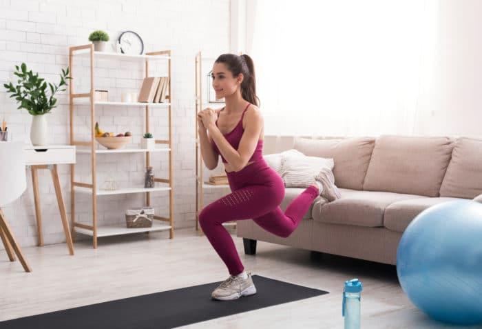 sofa workout