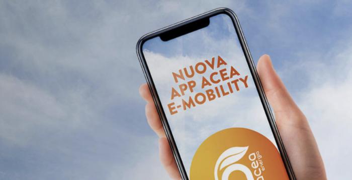App 'Acea e-mobility