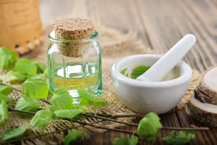 olio essenziale di betulla