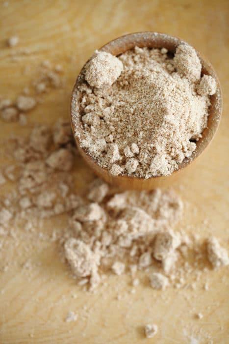 farina di arachidi